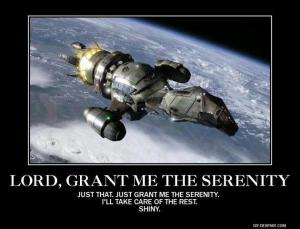 Lord, Grant me the Serenity