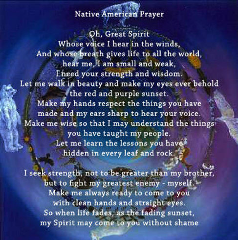 native prayer