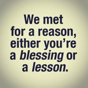We Met For A Reason Quote