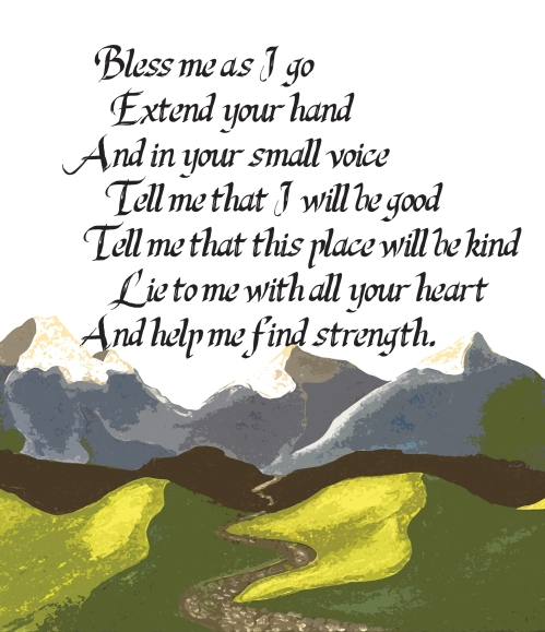 a mountain prayer