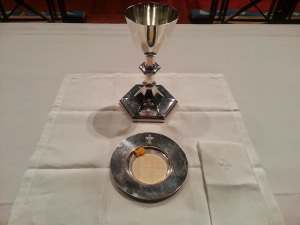 gold fish eucharist
