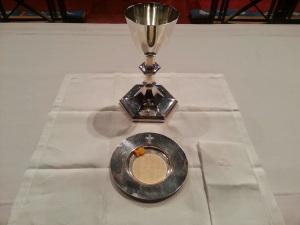gold fish eucharist