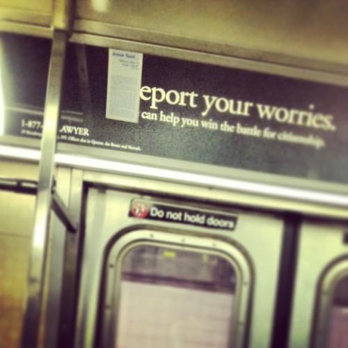 report your worries